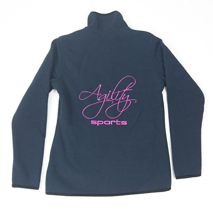 Fleece Teddy Jacket Sportswear darkblue Agilitini Women qna4xBvYt