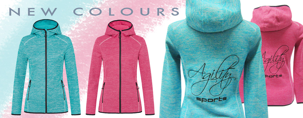 banner fleece jacken new colours