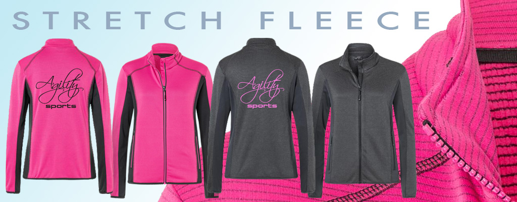 banner stretch fleece