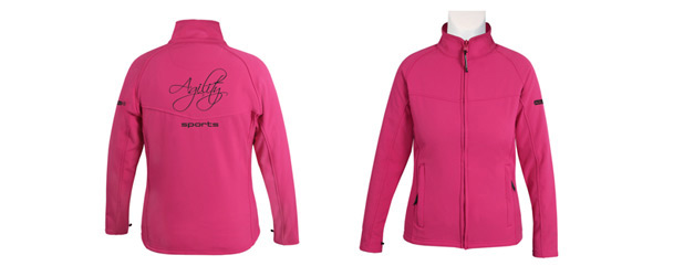 news softshell jacke pink2016