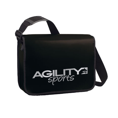 agilitini sportswear lorrybag umh ngetasche aus lkw plane in schwarz. Black Bedroom Furniture Sets. Home Design Ideas