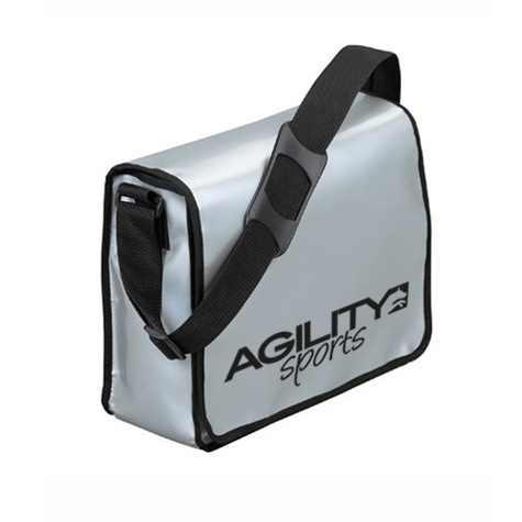 agilitini sportswear lorrybag umh ngetasche aus lkw plane in silber. Black Bedroom Furniture Sets. Home Design Ideas