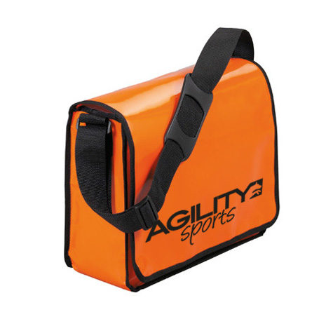 agilitini sportswear lorrybag umh ngetasche aus lkw plane in orange. Black Bedroom Furniture Sets. Home Design Ideas