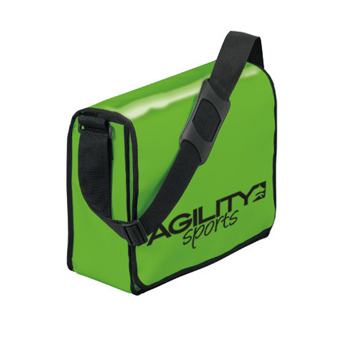 agilitini sportswear lorrybag umh ngetasche aus lkw plane in gr n. Black Bedroom Furniture Sets. Home Design Ideas