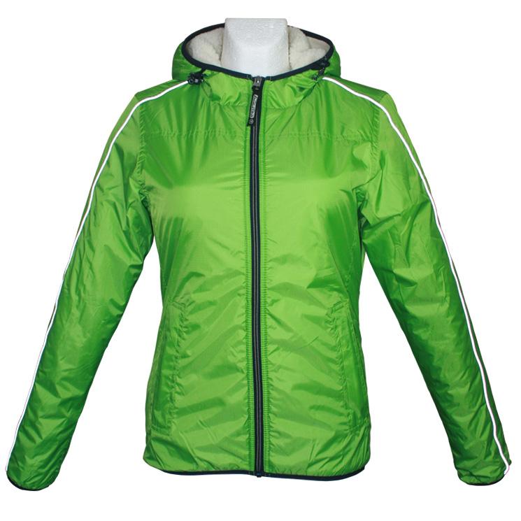 Agilitini Sportswear Damen Winter Sport Jacke in grün